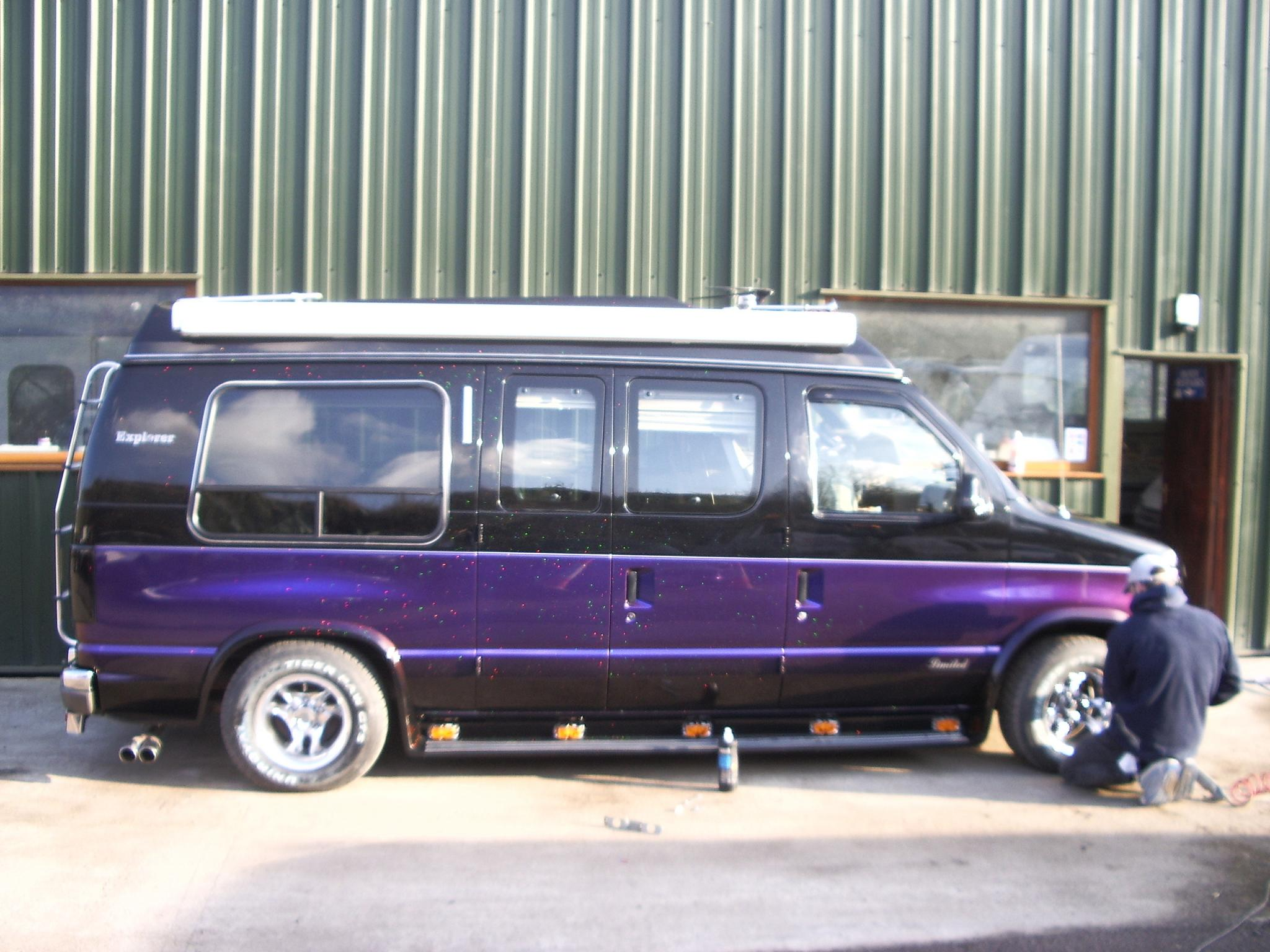 What Is The Widest Tire For A 1992 Econoline Conversion Van
