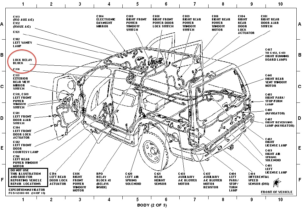 2000 Ranger Door Lock Relay Location Wiring Diagrams