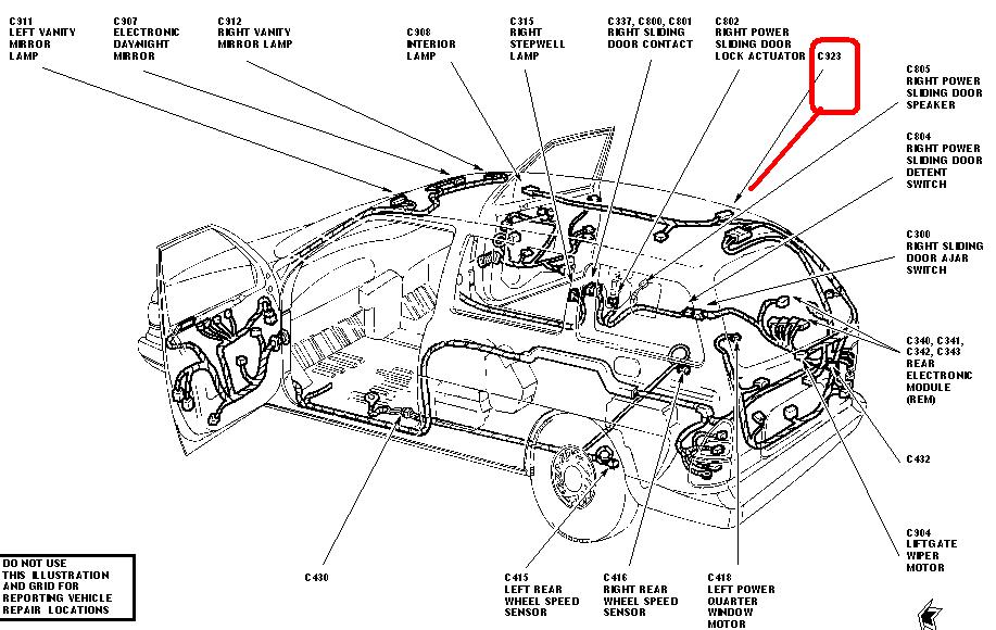 2003 ford windstar wiring diagram