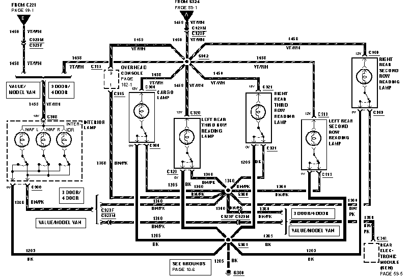 windstar module diagram