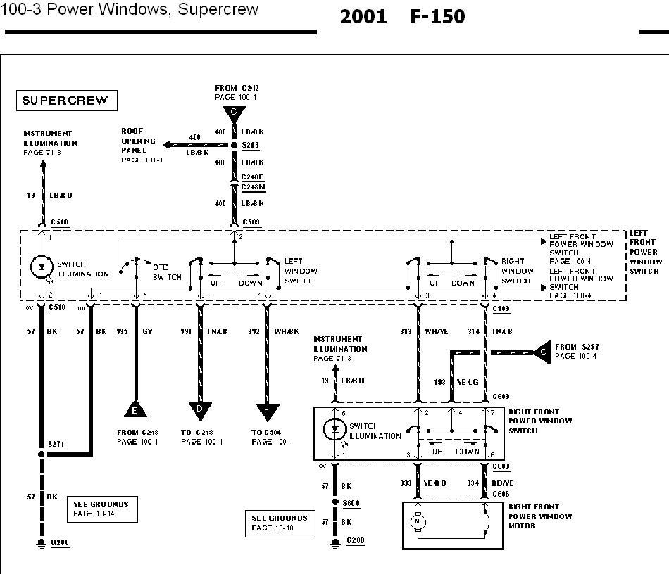 2000 ford excursion wiring diagram 02 excursion window problem fordforumsonline com  02 excursion window problem