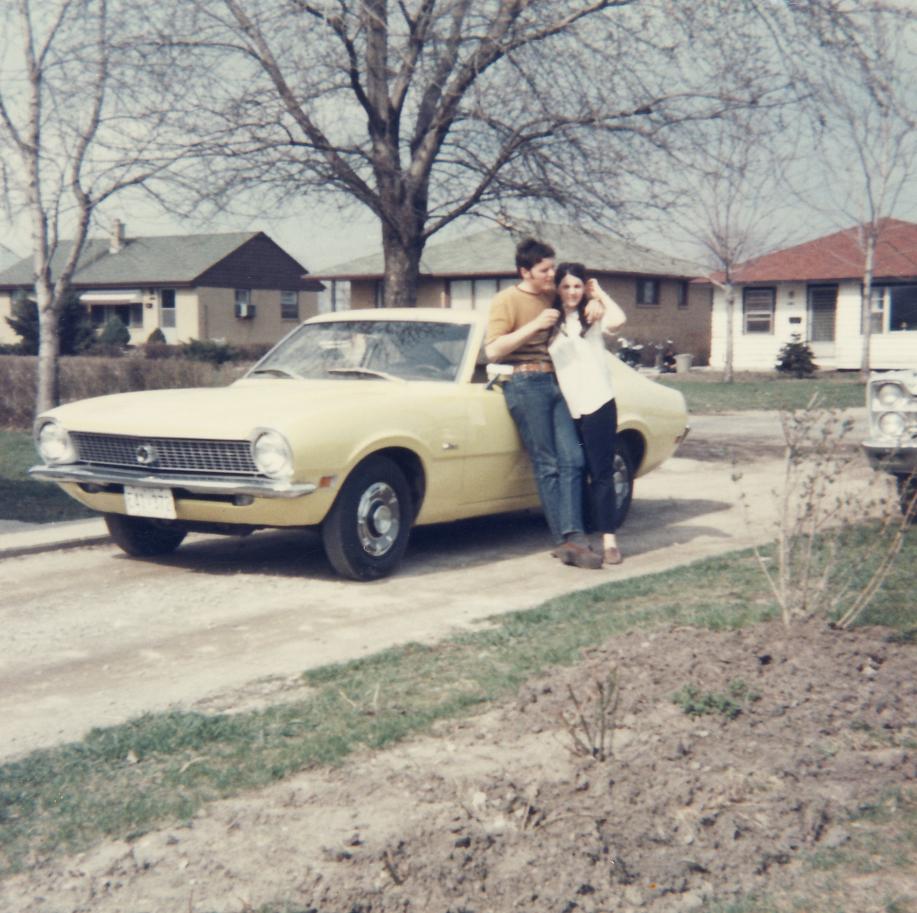 2Mike's 1st new car 1970 Ford Maverick 1970 A.jpg