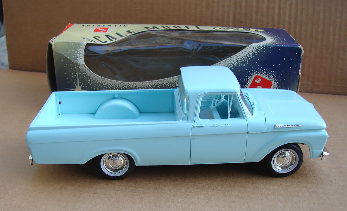 Ford 1/25th scale Promotional Model Cars Wanted ...
