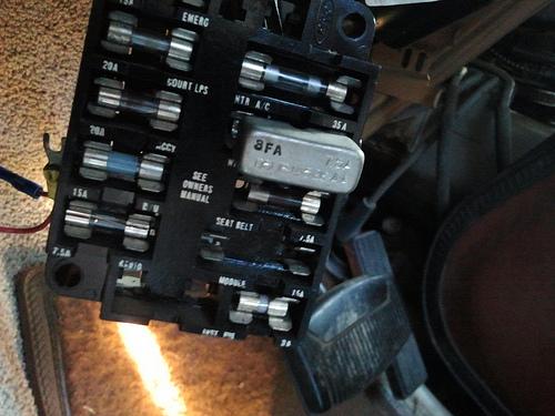 1987 ford e350 wiring diagram 1984 e 350  module  fuse blowing fordforumsonline com  1984 e 350  module  fuse blowing