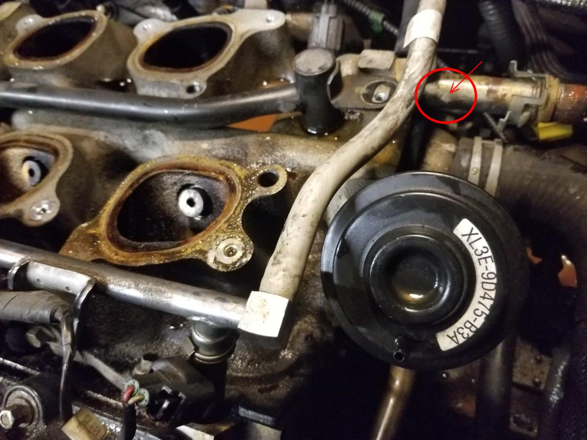 2002 Windstar Intake Coolant Leak Fordforumsonline Com