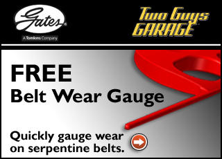 FREE Gates Serpentine Belt Wea...