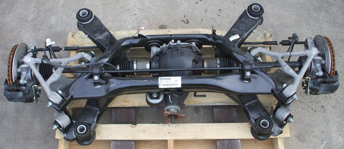 Reference New Thunderbird Lincoln LS rear axle assembly
