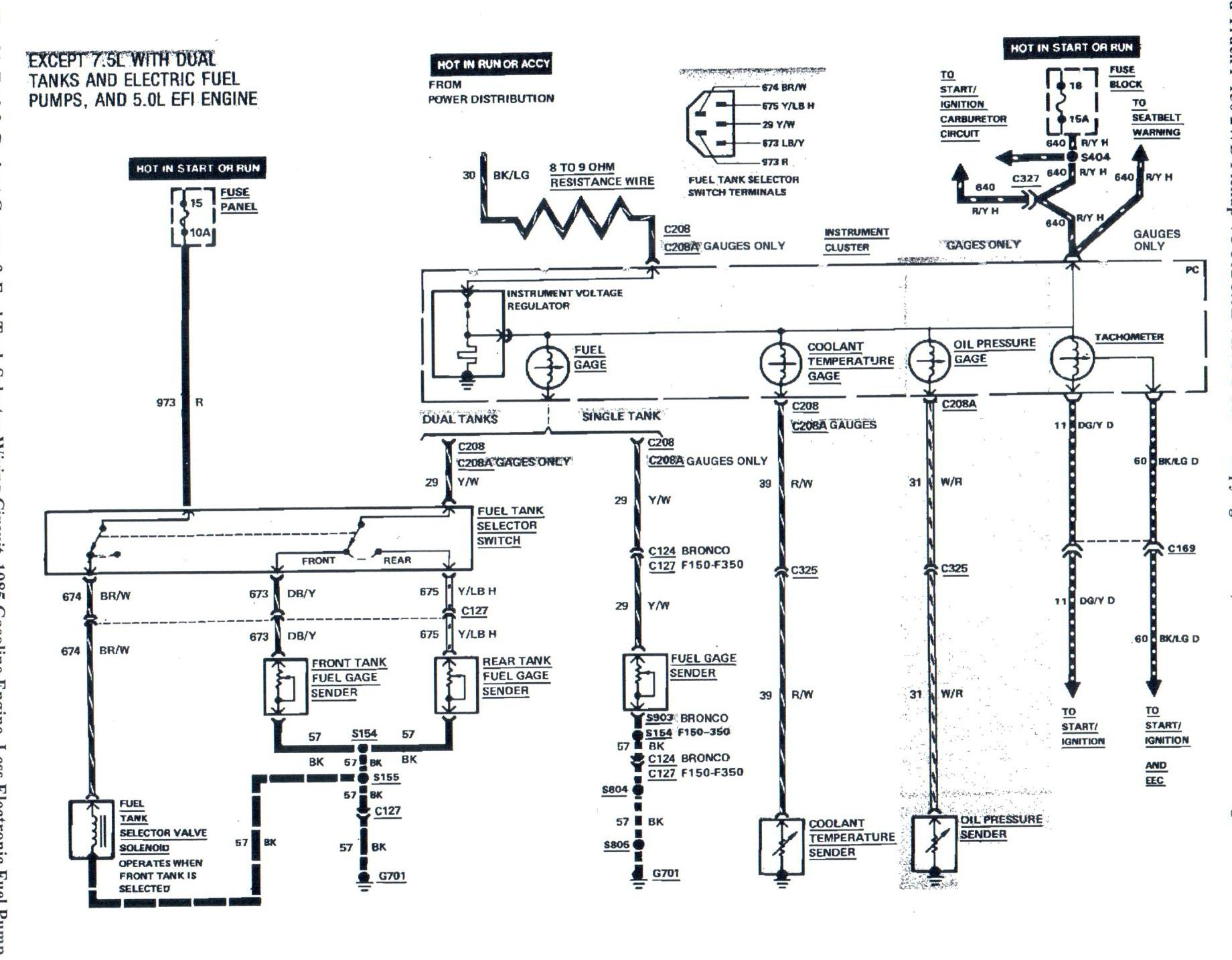 1985 f150 fuel problem please help!! fordforumsonline com 1985 ford f150 wiring diagram at creativeand.co