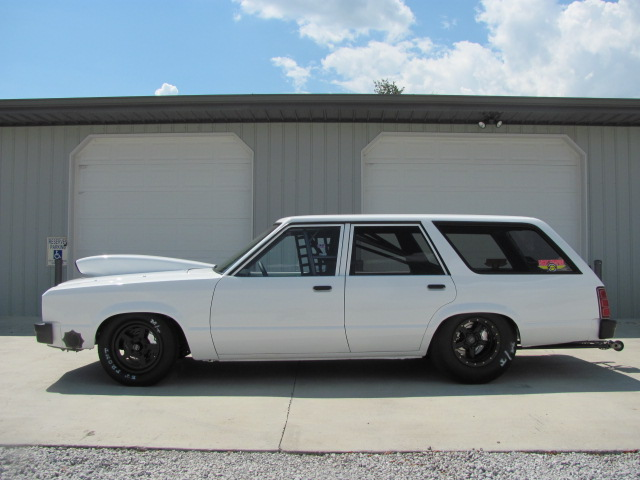 Fairmont Wagon Drag Car