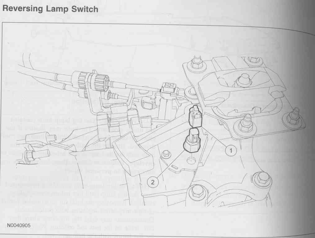focus se 07' reverse lights don't work fordforumsonline com 2010 Ford Fusion Engine Diagram at gsmx.co