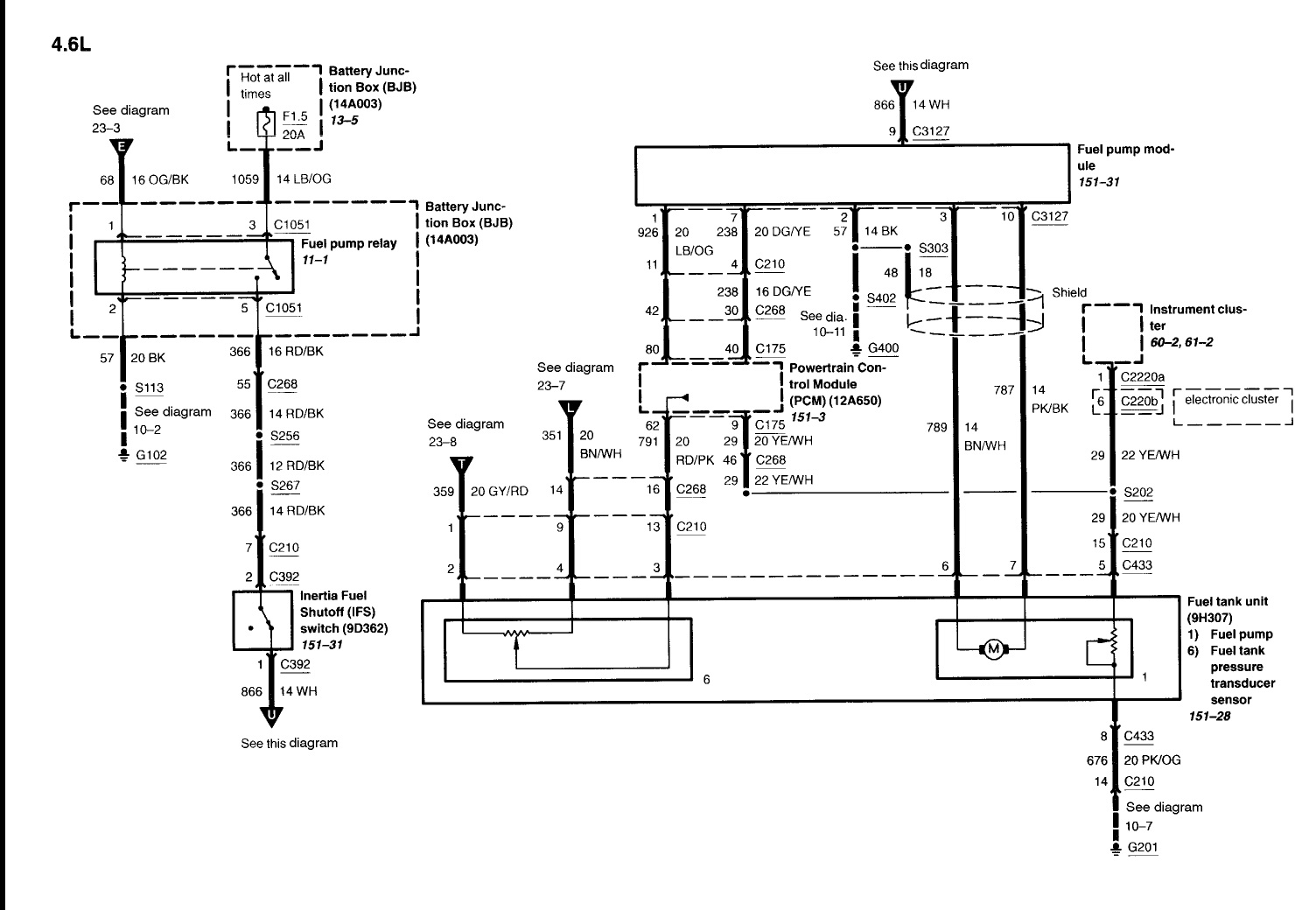 2011 crown victoria police interceptor wiring diagram   53