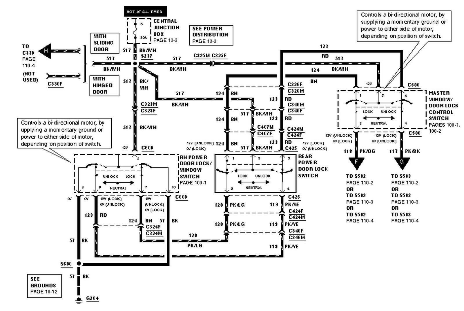2003 E350 Power Locks Not Working   Ford Automobiles   Ford Lock Switch Wiring Diagram      Ford Forums Online.com