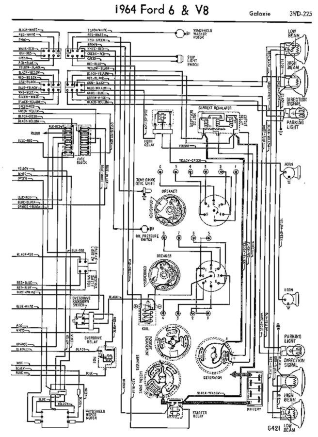 64 Galaxie 500 Ignition Coil Wiring   Ford Automobiles   Speaker Wiring Diagram 1964 Galaxie      Ford Forums Online